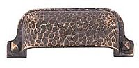 Hammered Bin Pull - Oil Rubbed Bronze