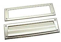 Mail Slot with Open Backplate - Many Finishes Available