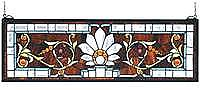Bevelled Ellsinore Stained Glass Panel