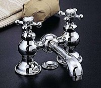 "Columbia 4"" Centreset Lav or Sink Faucet Set - Solid Brass - Multiple Finishes"