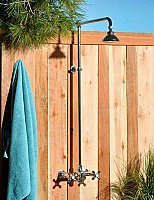 Outdoor Exposed Shower Unit - Multiple Finishes