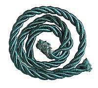 Picture Hanging Cord, Green, sold per yard