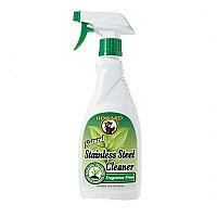 Howard Natural Stainless Steel Cleaner-Fragrance-Free - 16 oz.