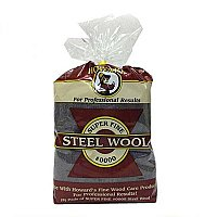 Howard Steel Wool - Pack of 8