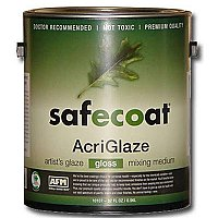 Old Fashioned Milk Paint Acriglaze Safecoat - Matte Finish - Quart