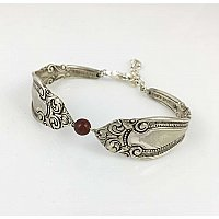Repurposed Silverplate Bracelet