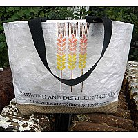 Repurposed Beer Malt Tote Bag- New York State Grown