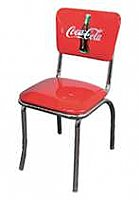 "Diner Chair, Red ""Coca Cola"""