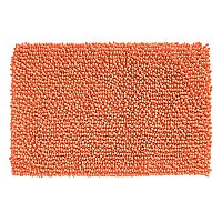 "Ultra-Soft Microfiber Frizz Chenille Bath Rug - 20"" x 30"" - Light Coral"