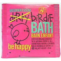Dresdner Essenz Dirty Birdie Bath Powder - Be Happy - Rose and Vanilla Oil