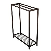 Kingston Brass SCC8355 Edenscape Freestanding Iron Towel Rack - Oil Rubbed Bronze