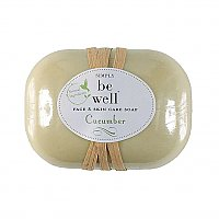 Simply Be Well Plant Based Soap Bar - Cucumber