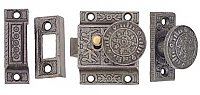 Windsor Victorian Cast Iron Storm or Screen Door Latch Kit