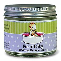 Sweet Grass Farms Healing Baby Bottom Cream with Lavender Essential Oil