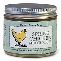 Sweet Grass Farms Spring Chicken Muscle Rub - Cinnamon Scented