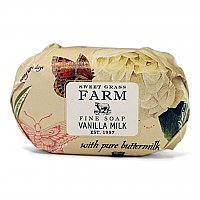 Sweet Grass Farms Meadow Triple Milled Bar Soap - Vanilla Milk