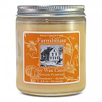 Sweet Grass Farms Soy Candle - Spiced Pumpkin
