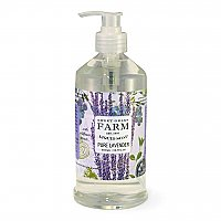 Sweet Grass Farms Liquid Soap with Wildflower Extracts - Pure Lavender