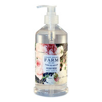 Sweet Grass Farms Liquid Soap with Wildflower Extracts - Peony Rose