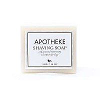 Apotheke Shaving Bar Soap