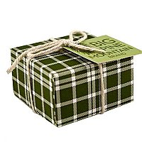 Big Pine Mountain Plaid Wrapped Soap