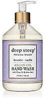 Deep Steep Argan Oil Liquid Hand Soap - Lavender Vanilla
