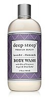 Deep Steep Body Wash - Lavender Chamomile - 17 oz. Bottle
