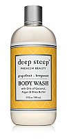 Deep Steep Body Wash - Grapefruit Bergamot - 17 oz. Bottle