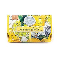 Michel Design Works Large Bath Soap Bar - Lemon Basil