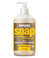 EO Products 3-in-1 Soap for Everyone - Coconut + Lemon - 32 oz.