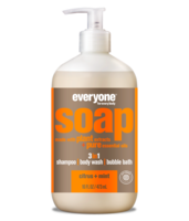 EO Products 3-in-1 Soap for Everyone - Citrus + Mint - 32 oz.