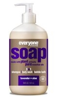 EO Products 3-in-1 Soap for Everyone - Lavender + Aloe - 32 oz.