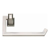 Geometric Style - Sutton Place Toilet Paper Holder - Brushed Nickel