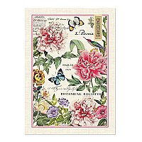 Michel Design Works Cotton Kitchen Towel - Peony