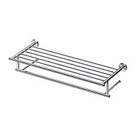Large Latitude 2 Minimalist Towel Rack - Polished Chrome