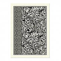 Michel Design Works Cotton Kitchen Towel - Black Florentine