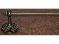 "Tuscany 30"" Single Towel Bar in German Bronze"