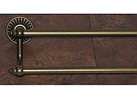 "Tuscany 30"" Double Towel Bar in German Bronze"