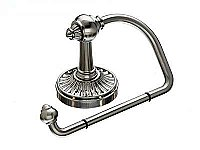 Tuscany Toilet Paper Hook in Brushed Satin Nickel