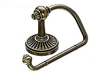Tuscany Toilet Paper Hook in German Bronze