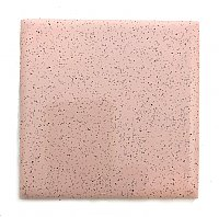 "Antique Stylon Pink with Speckles Ceramic Tile 4-1/4"" x 4-1/4"" Circa 1955 - Sold Each"