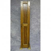 Antique Single Narrow Pine Cabinet Door