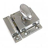 Antique Polished Chrome Cabinet Latch