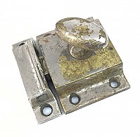 Antique Nickel Cabinet Latch