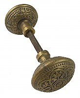 Antique Cast Bronze Door Knob Pair by P. & F. Corbin - Circa 1895