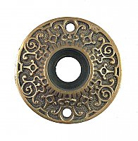 Antique Cast Bronze Aesthetic Style Door Rosette or Escutcheon