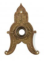 Antique Cast Bronze Aesthetic Style Aesthetic Style Door Rosette or Escutcheon