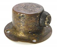 Antique Brass Door Stop