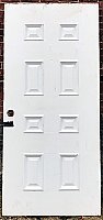 Antique Exterior Eight Panel Door