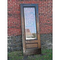 Antique Oak Exterior Door